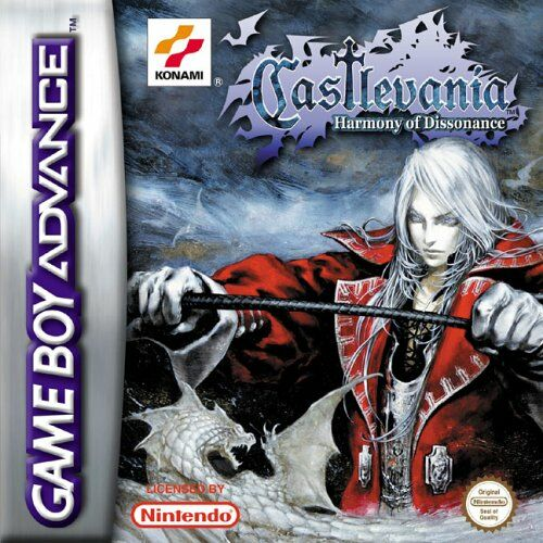 Castlevania - Harmony of Dissonance (E)(Eurasia) Box Art