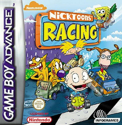 Nicktoons Racing (E)(Patience) Box Art