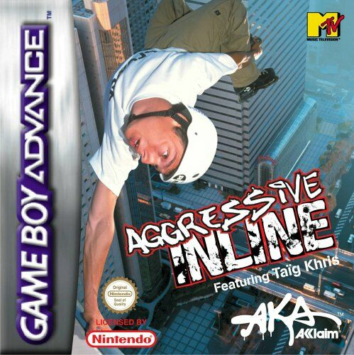 Aggressive Inline (E)(Patience) Box Art