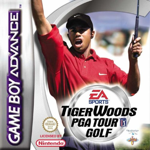 Tiger Woods PGA Tour Golf (E)(Patience) Box Art