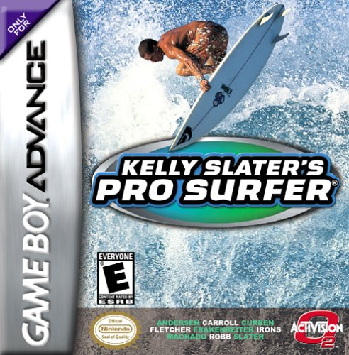 Kelly Slater's Pro Surfer (U)(Mode7) Box Art