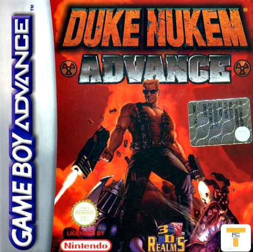 Duke Nukem Advance (E)(LightForce) Box Art
