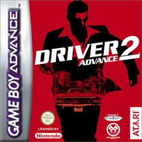 Driver 2 Advance (E)(Eurasia) Box Art