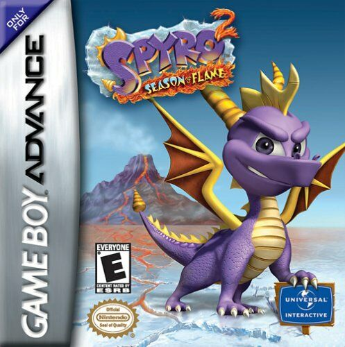 Spyro 2 - Season of Flame (U)(Venom) Box Art