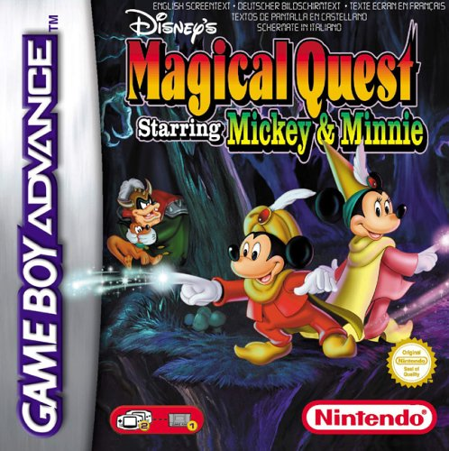 Disney's Magical Quest Starring Mickey and Minnie (E)(Patience) Box Art