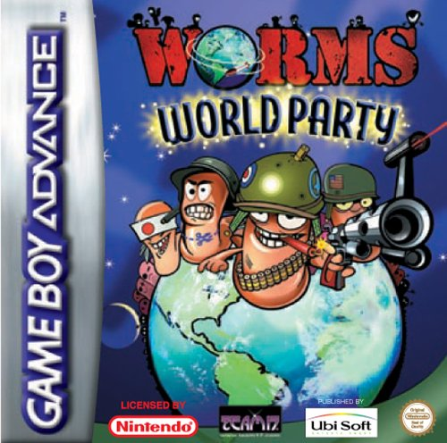 Worms World Party (E)(Venom) Box Art
