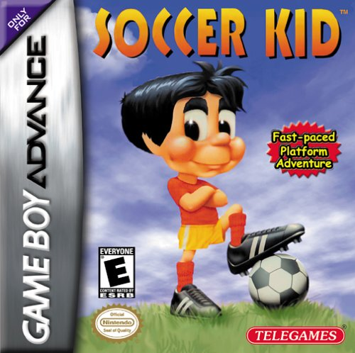 Soccer Kid (U)(Venom) Box Art