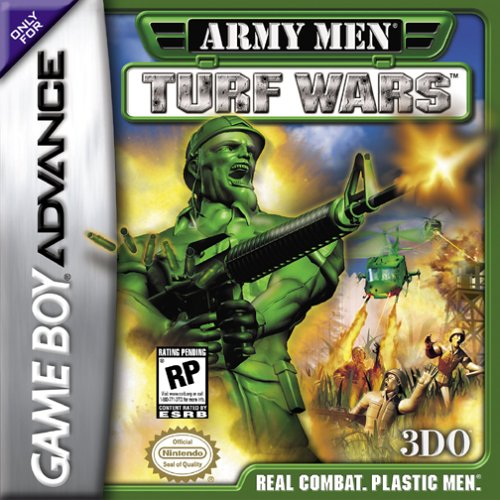 Army Men - Turf Wars (U)(Mode7) Box Art