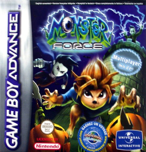 Monster Force (E)(LightForce) Box Art