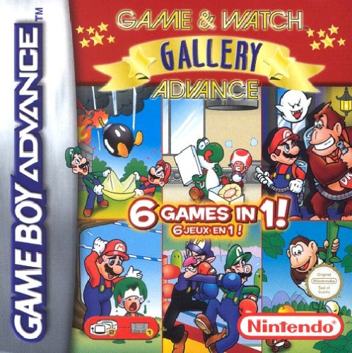 Game & Watch Gallery Advance (E)(Menace) Box Art