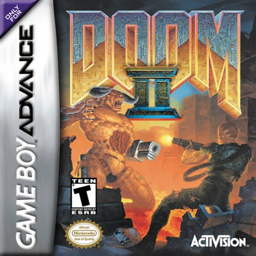 Doom II (U)(Mode7) Box Art