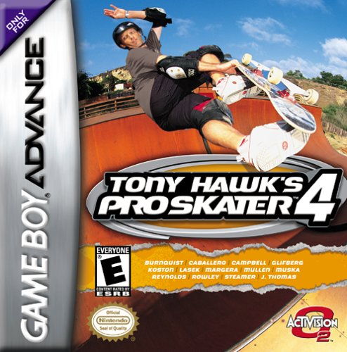 Tony Hawk's Pro Skater 4 (U)(Rapid Fire) Box Art