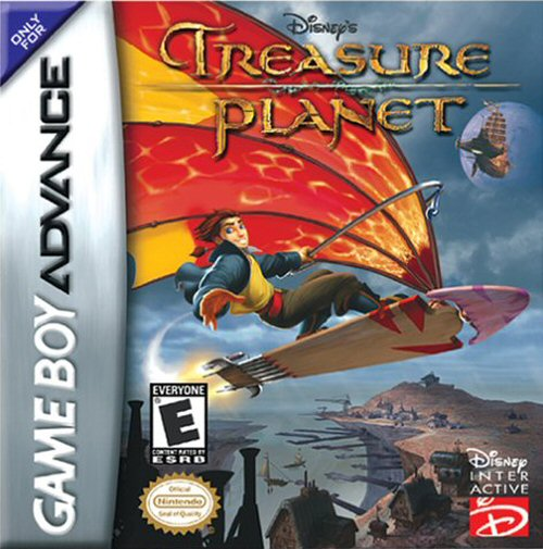 Disney's Treasure Planet (U)(Venom) Box Art