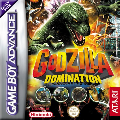 Godzilla Domination (E)(Eurasia) Box Art