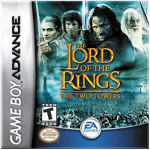 The Lord of the Rings - The Two Towers (U)(Mode7) Box Art