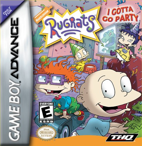 Rugrats - I Gotta Go Party (U)(Patience) Box Art