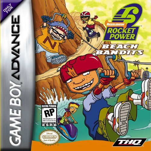 Rocket Power - Beach Bandits (U)(Venom) Box Art
