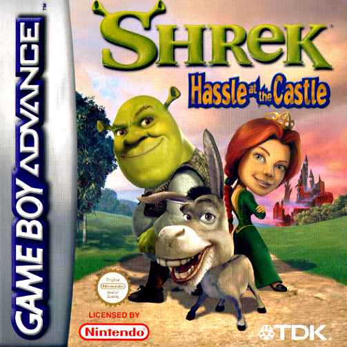 Shrek Hassle at the Castle (E)(Independent) Box Art