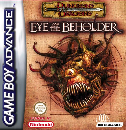 Dungeons and Dragons - Eye of the Beholder (E)(Patience) Box Art