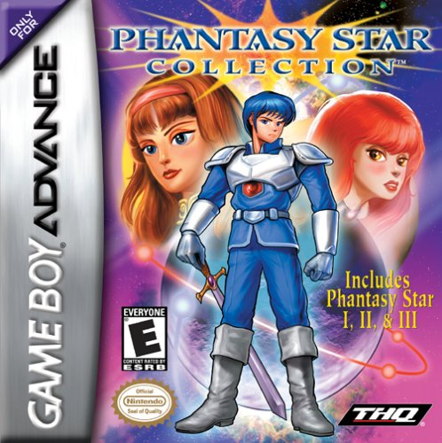 Phantasy Star Collection (U)(Mode7) Box Art