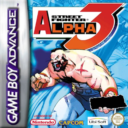 Street Fighter Alpha 3 (E)(Quartex) Box Art