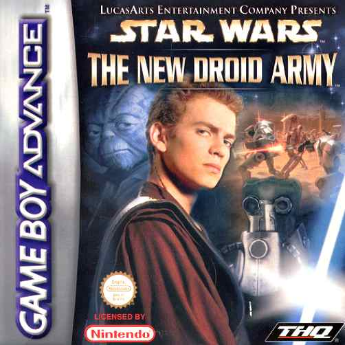 Star Wars - The New Droid Army (E)(Patience) Box Art