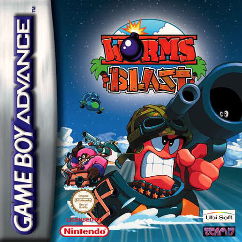 Image result for gba worms blast