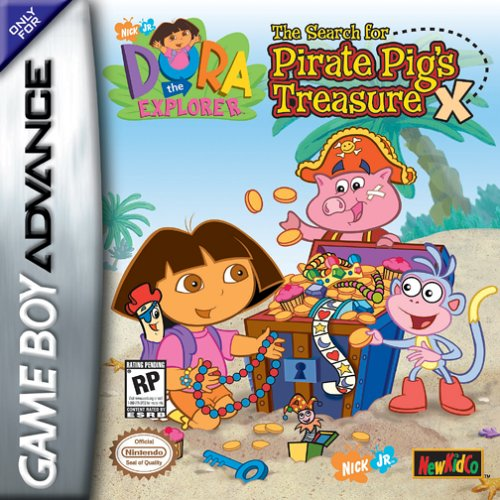 Dora The Explorer The Search For Pirate Pigs Treasure Ueurasia