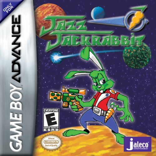 Jazz Jackrabbit (U)(Eurasia) Box Art