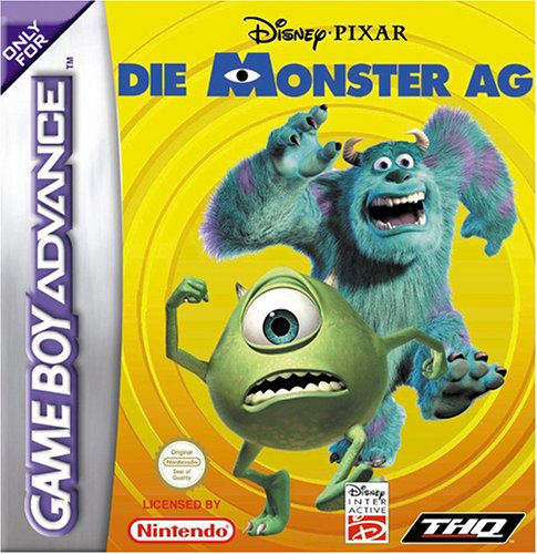 Die Monster AG (G)(Advance-Power) Box Art