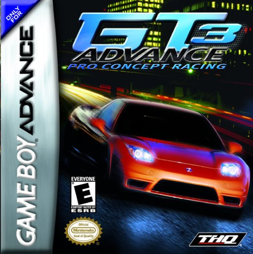 GT Advance 3 - Pro Concept Racing (U)(Mode7) Box Art