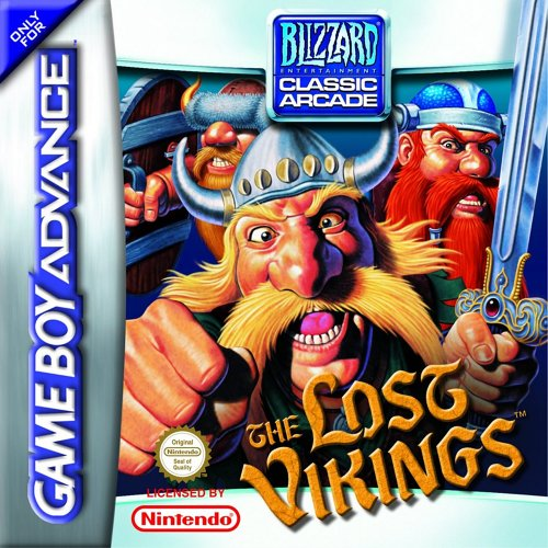 The Lost Vikings (E)(Eurasia) Box Art