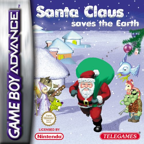 Santa Claus Saves the Earth (E)(Eurasia) Box Art