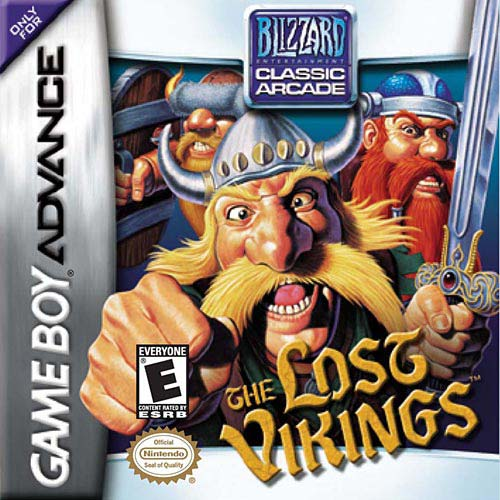 The Lost Vikings (U)(Independent) Box Art