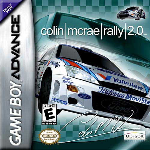 Colin McRae Rally 2 (U)(BatMan) Box Art