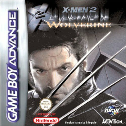 X-Men 2 - La vengeance de Wolverine (F)(Patience) Box Art