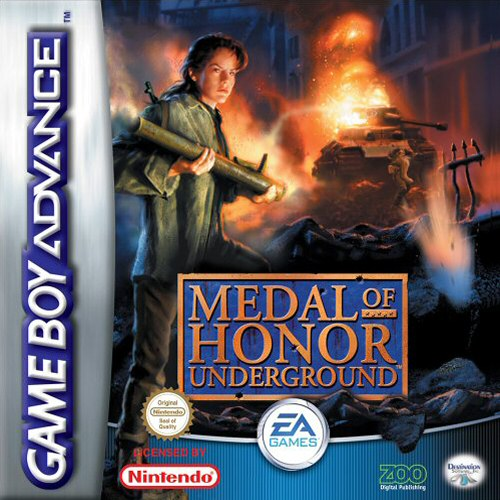 Medal of Honor - Underground (E)(Patience) Box Art