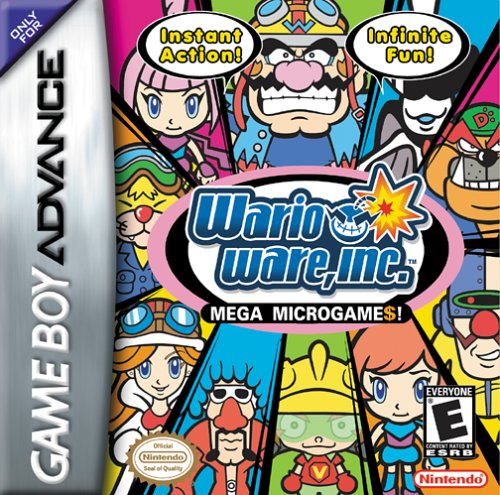 Wario Ware Inc (U)(Precision) Box Art