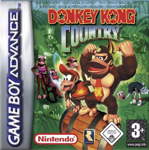 Donkey Kong Country (E)(Menace) Box Art