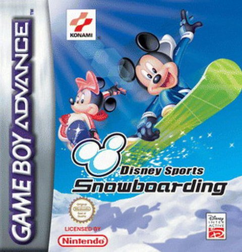 Disney Sports Snowboarding (E)(Patience) Box Art