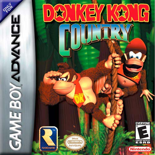 Donkey Kong Country (U)(Evasion) Box Art