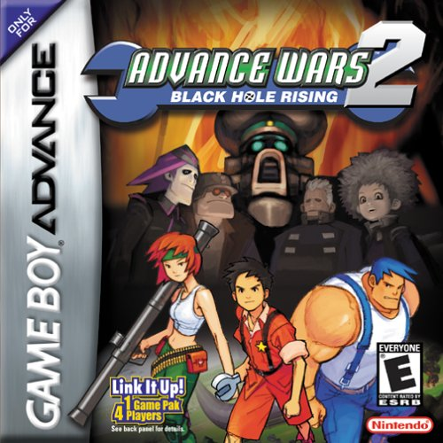 Advance Wars 2 - Black Hole Rising (U)(Mode7) Box Art
