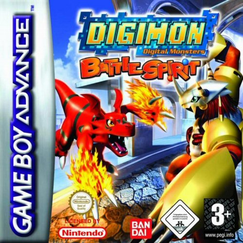 Digimon Battle Spirit (E)(Suxxors) Box Art