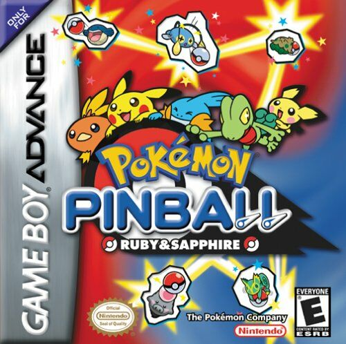 Pokemon Pinball - Ruby & Sapphire (U)(Mode7) Box Art