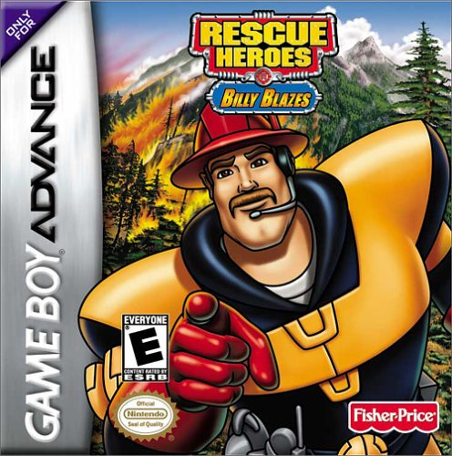 Rescue Heroes Billy Blazes (U)(Mode7) Box Art