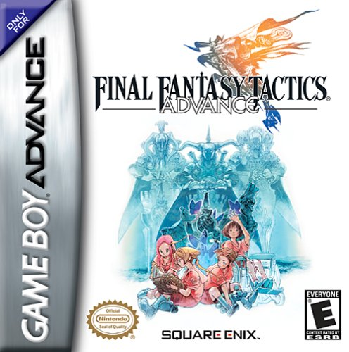 Final Fantasy Tactics Advance (U)(Eurasia) Box Art