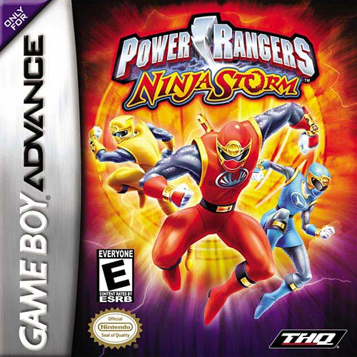 Power Rangers - Ninja Storm (U)(Mode7) Box Art