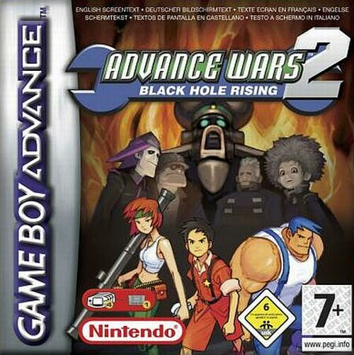 Advance Wars 2 - Black Hole Rising (E)(Surplus) Box Art