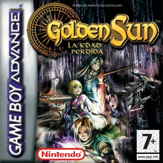 Golden Sun 2 La Edad Perdida S Flashadvance Rom Gba Roms