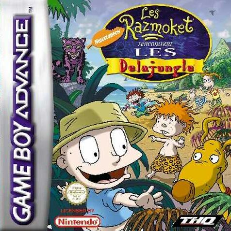 Les Razmoket rencontrent les Delajungle (F)(Patience) Box Art